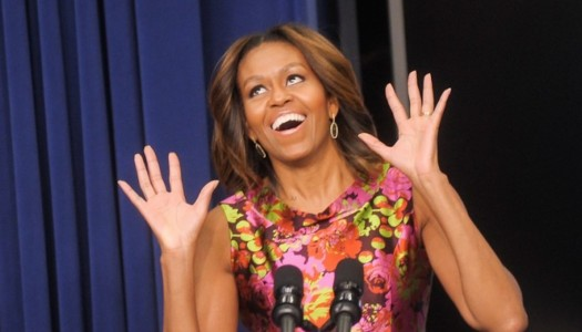 """Michelle Obama Helps Promote New Skrillex & Justin Bieber Track, """"Sorry"""""""