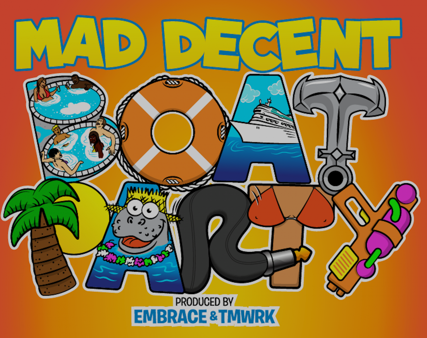 mad decent boat party