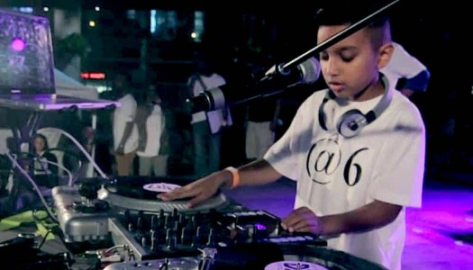 Nine-Year-Old Named the World's Youngest Club DJ