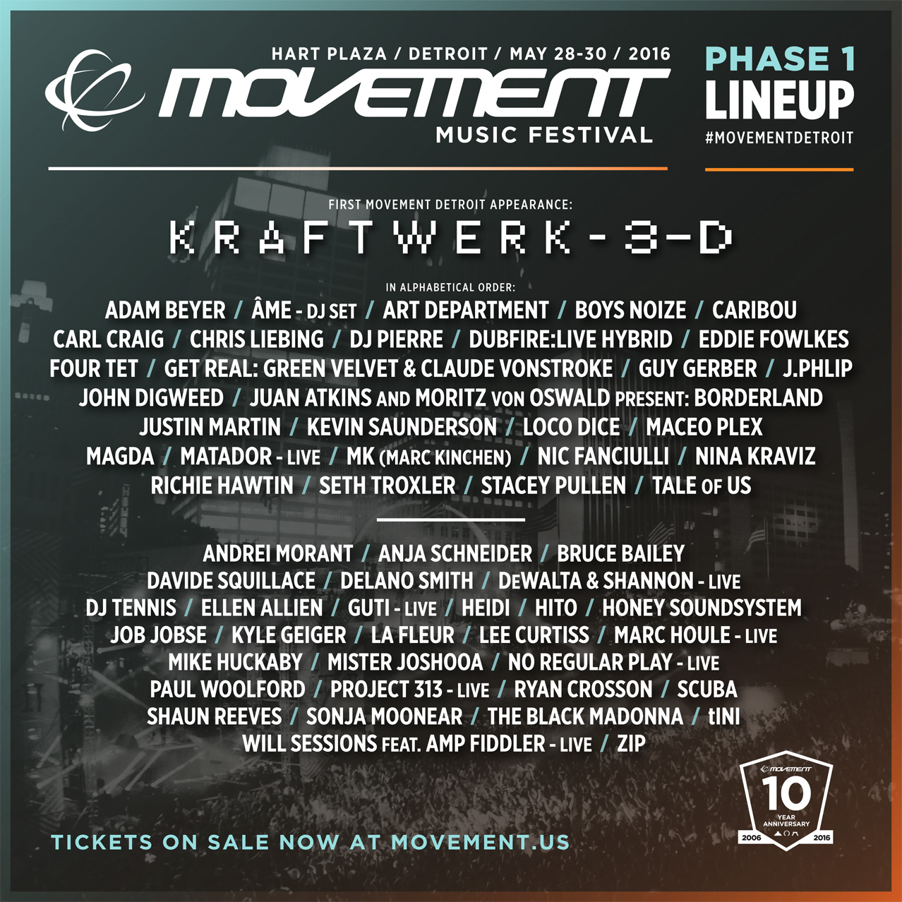 movement 2016 lineup