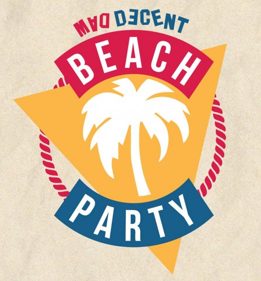 mad decent beach party