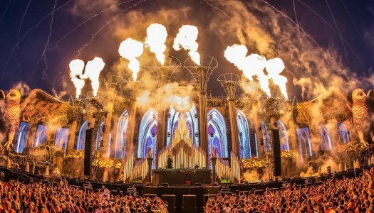 EDC Las Vegas Stage Catches Fire During Andy C Set