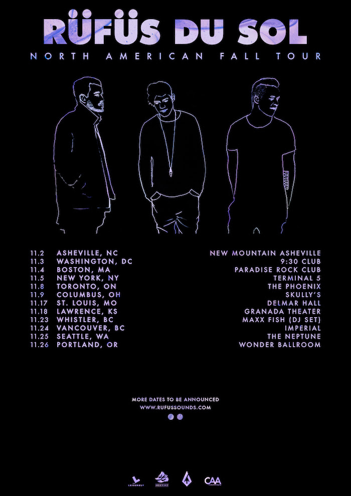 rufus du sol fall tour