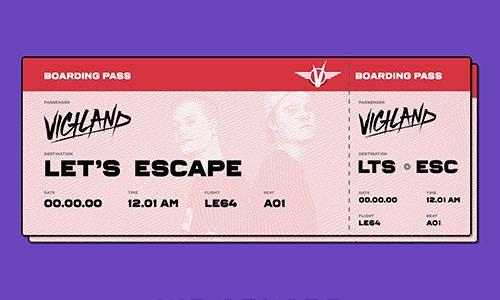 "Vigiland – ""Let's Escape"" (Kid Arkade Remix)"
