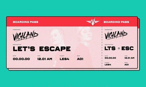 """Vigiland – """"Let's Escape"""" (Lucky Charmes Remix)"""