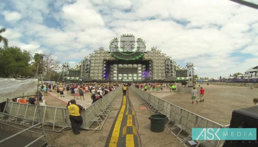 Watch the Ultra 2017 Stage Come to Life Through a Miami Skyscraper's Live Webcam