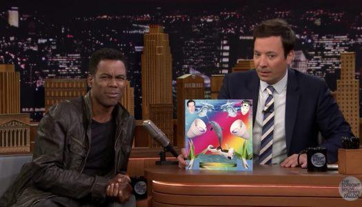 "Jimmy Fallon & Chris Rock Slam Kill The Noise, ""Sounds Like a Dolphin on Crack"""