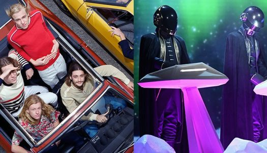 "Daft Punk and Parcels Team Up for Funky Track ""Overnight"""