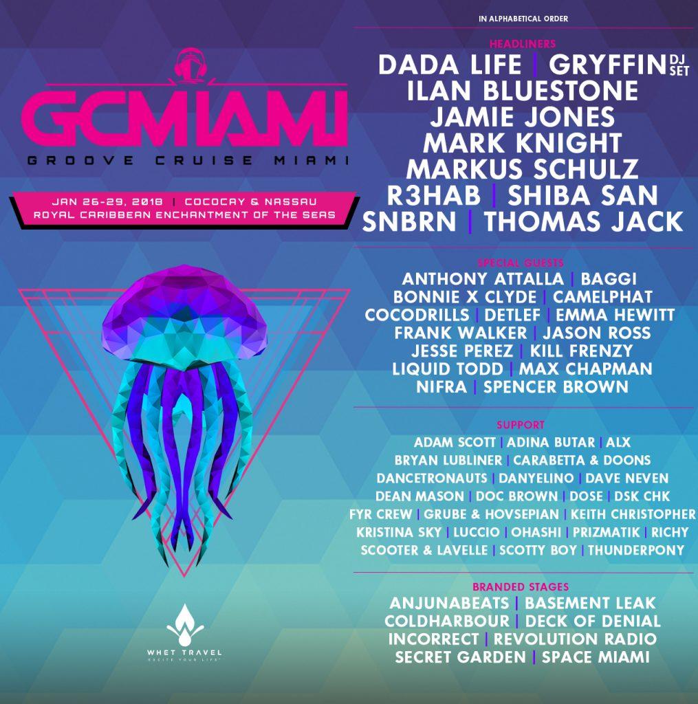 GCM18 Lineup