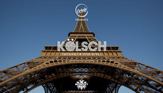 Kölsch to Perform on the Eiffel Tower on Monday