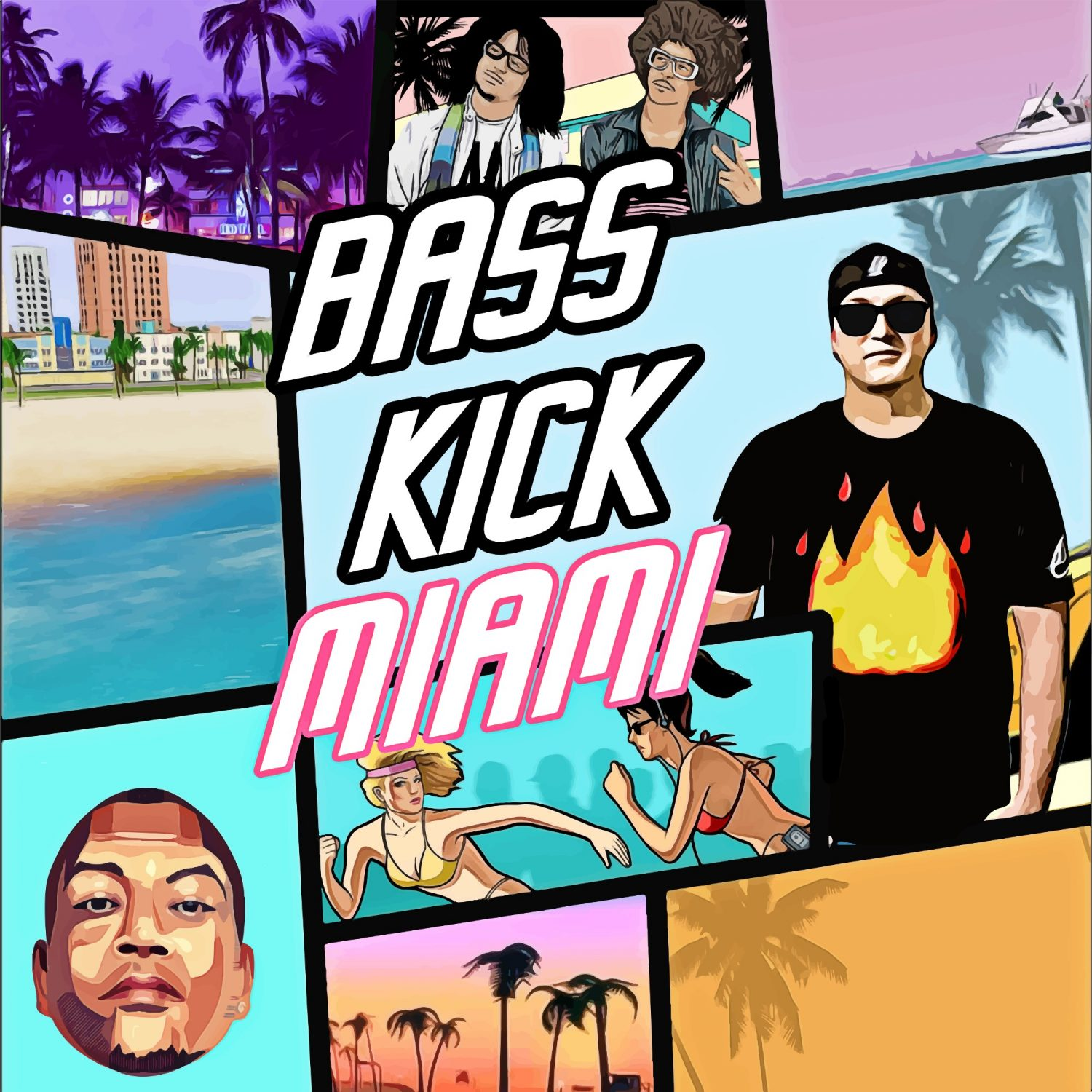Jaycen A'mour Let the Bass Kick in Miami Bitch Chuckie LMFAO