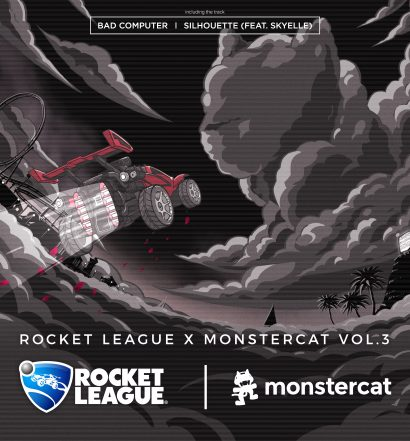 Rocket League Monstercat Vol 3 Bad Computer Silhouette Skyelle