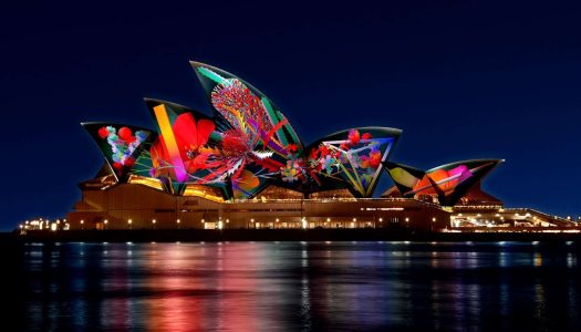 EPROM Creates Sound Design Displayed on the Sydney Opera House