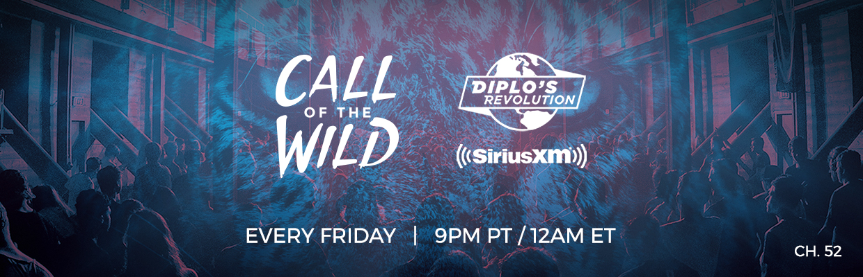 Monstercat Call of the Wild Diplo's Revolution SiriusXM