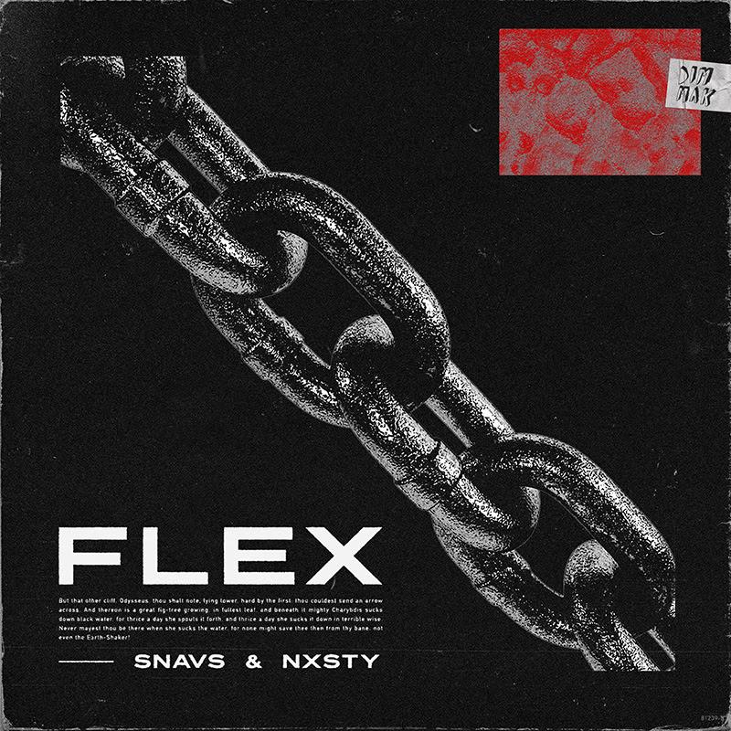 "Snavs and NXSTY Unite to Drop ""Flex"" via DIM MAK"