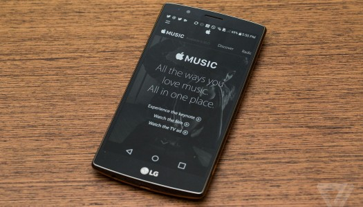 Apple Music Launches on Android