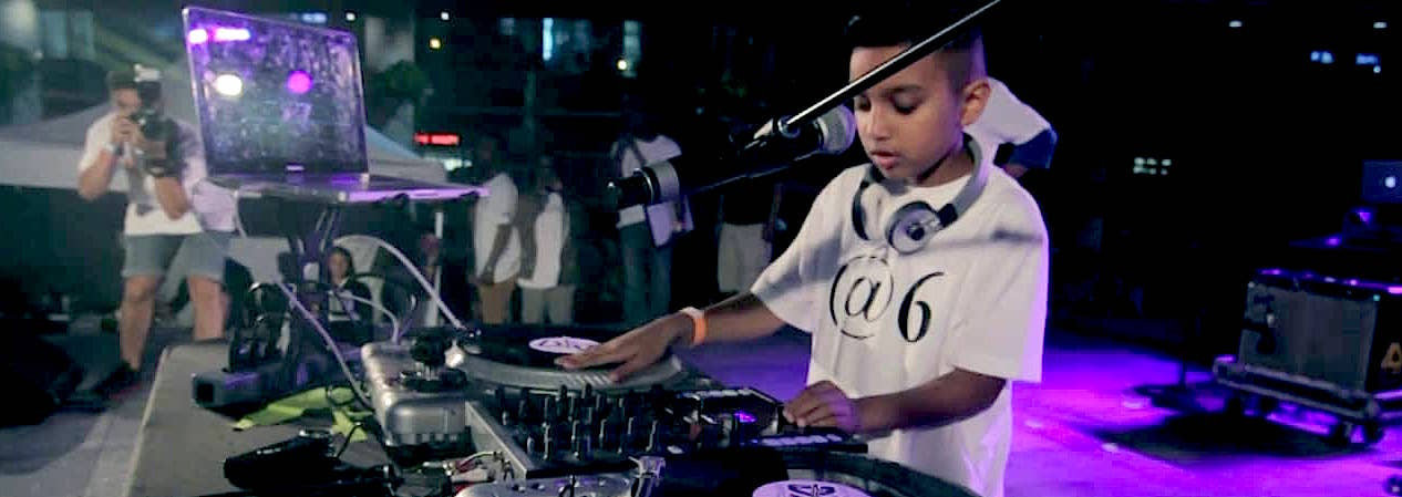 world's youngest dj