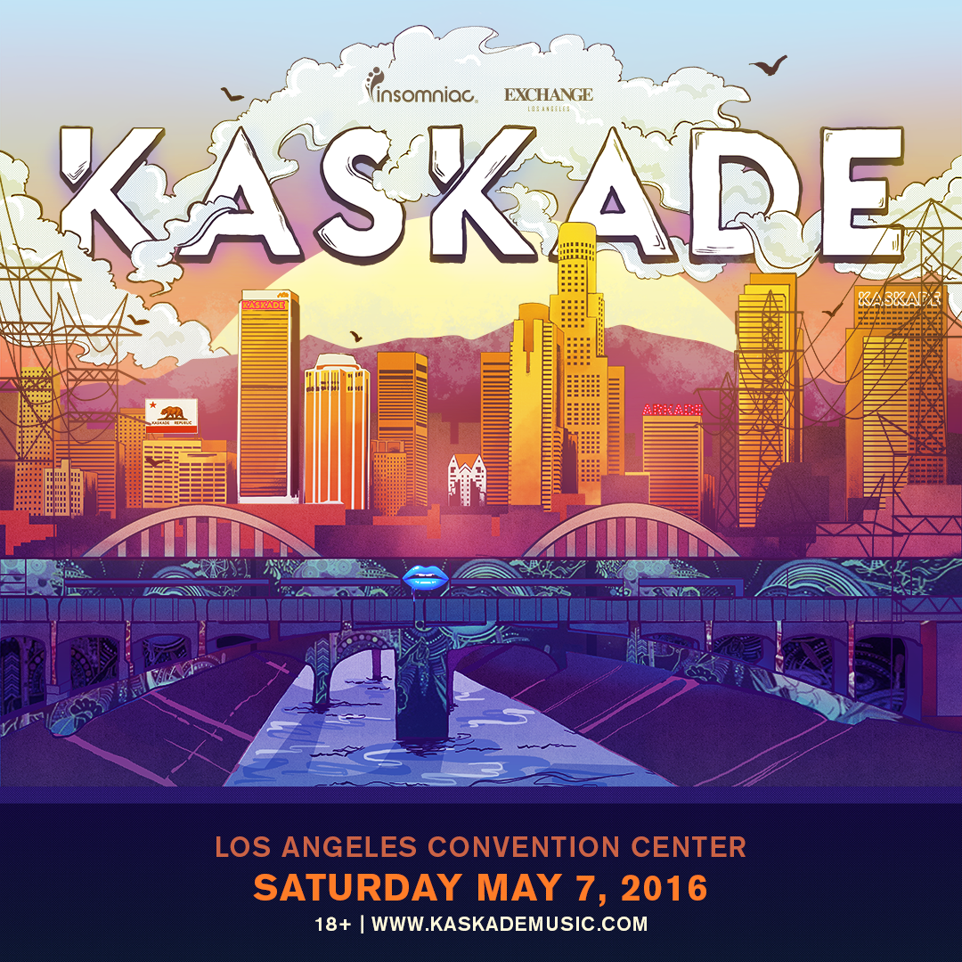 kaskade los angeles
