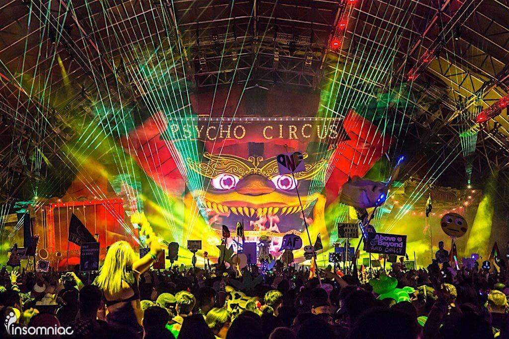 Insomniac Releases Lineup for Escape: Psycho Circus Halloween ...