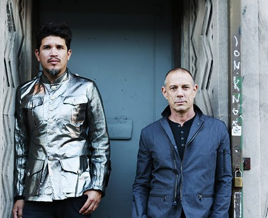November 18, 2016 - New York, NY Portrait shoot with Thievery Corporation's Rob Garza and Eric Hilton credit Jen Maler