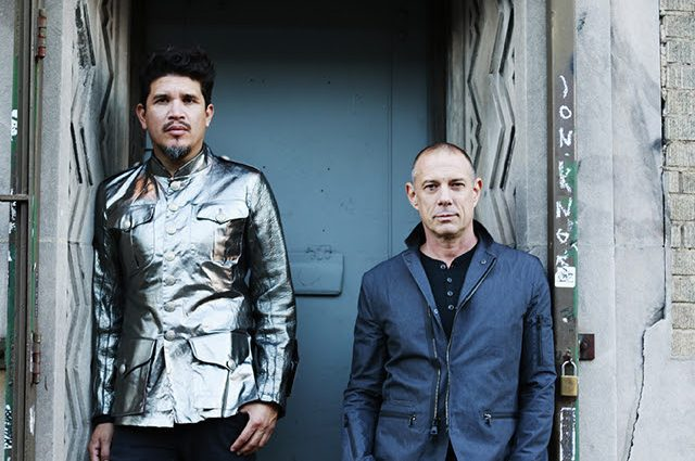 November 18, 2016 - New York, NY Portrait shoot with Thievery Corporation's Rob Garza and Eric Hilton credit Jen Maler