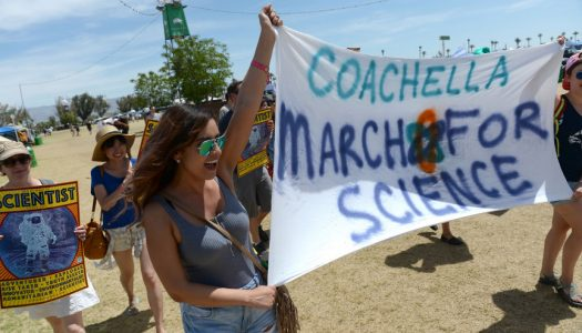 Coachella Attendees March For Science During Festival
