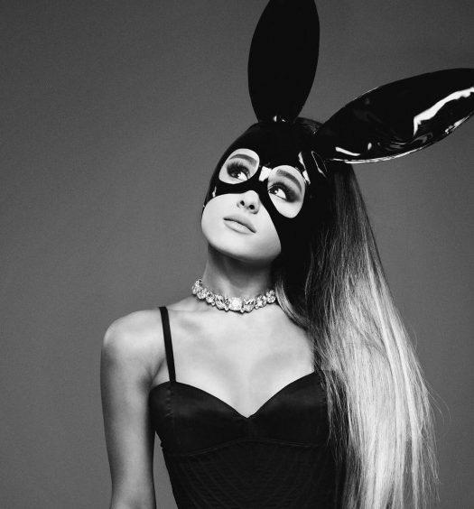ariana-grande-black-vinyl-bunny-outfit