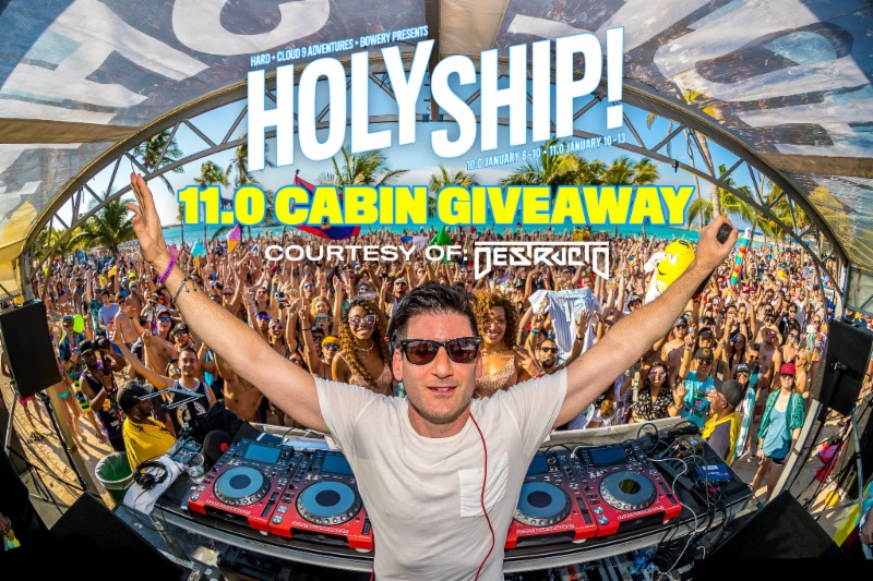Destructo Offers Spot Aboard Sold-Out HOLY SHIP! Giveaway]