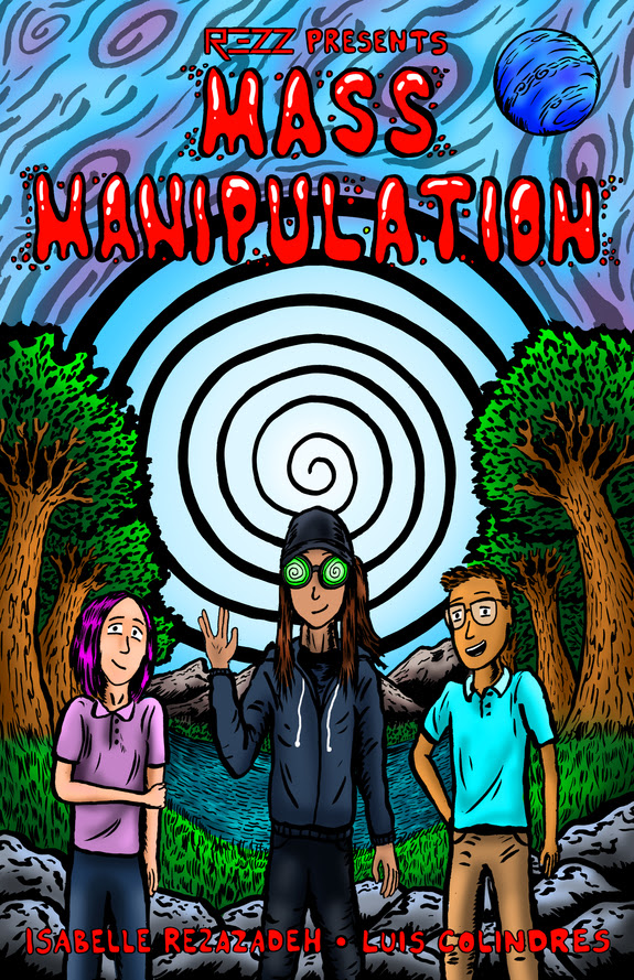 REZZ Announces 'Mass Manipulation' Comic Book