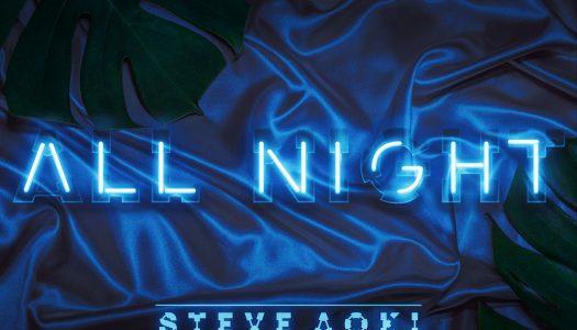 "Steve Aoki & Fifth Harmony's Lauren Jauregui Drop ""All Night"""
