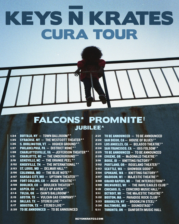 Keys N Krates Tour Dates