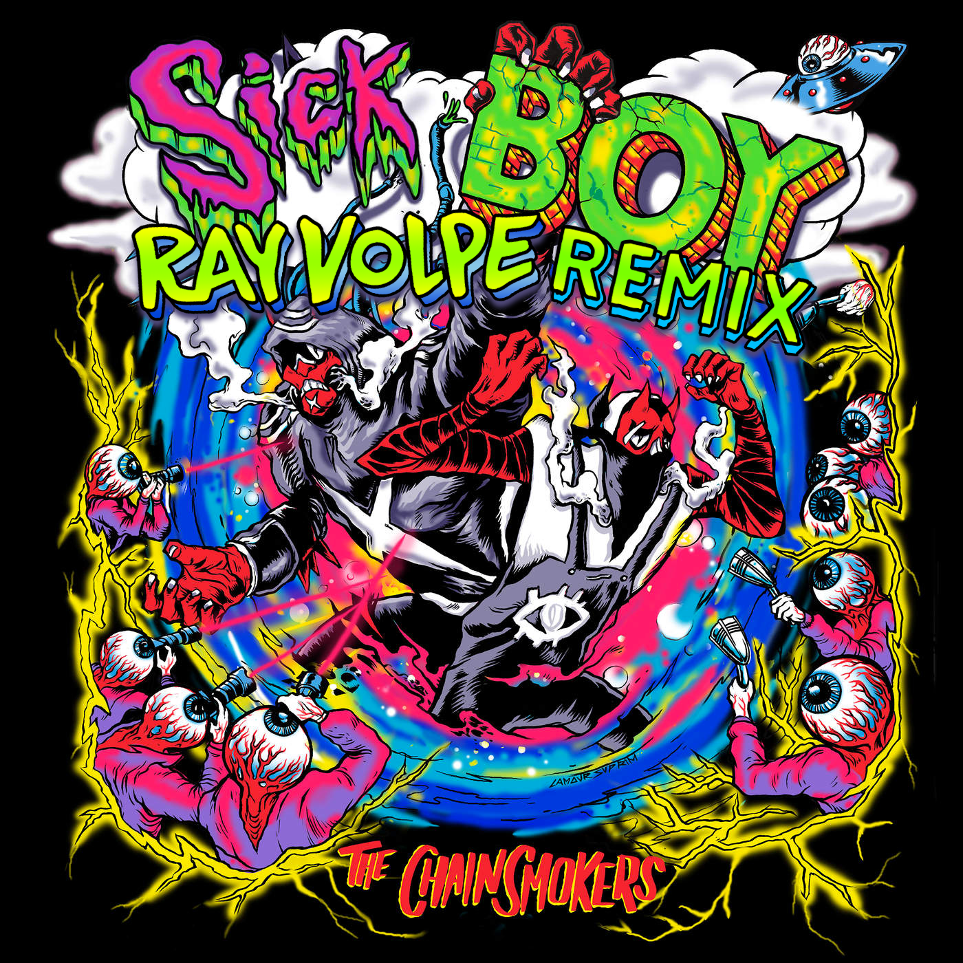 The Chainsmokers Sick Boy Ray Volpe Remix