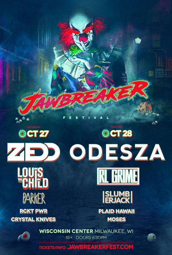 Jawbreaker Festival Announces Hair-Raising Headliners ODESZA, RL Grime + More
